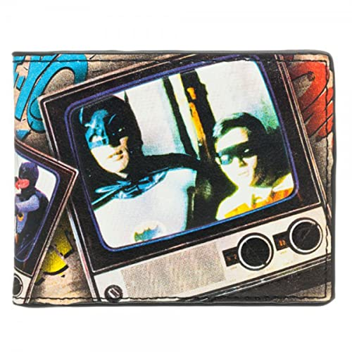 Bioworld Batman Classic 1966 Vintage cartera por talla única