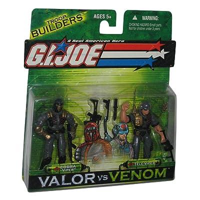 Cobra Viper & Tele Viper GI Joe Venom vs. Valor Action Figures: Toys & Games