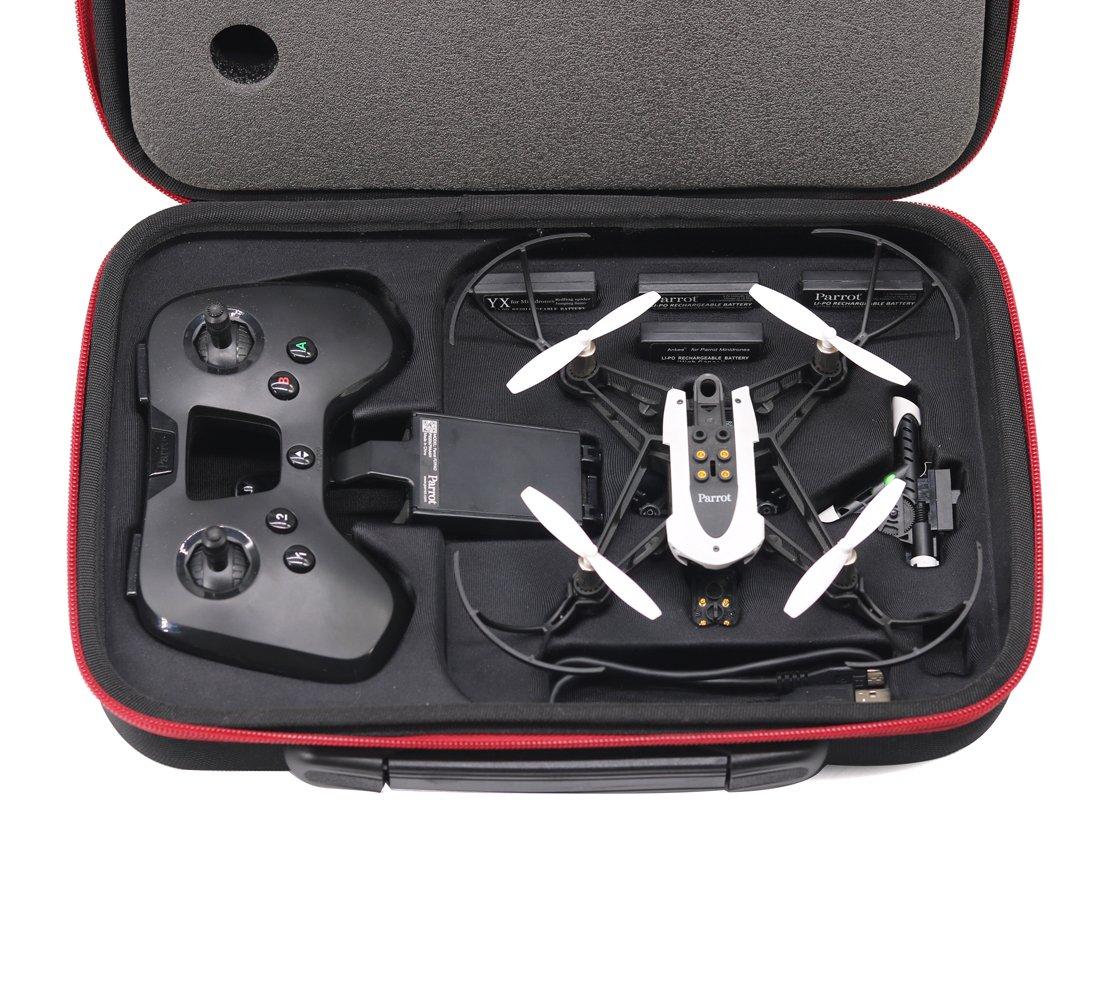 Anbee Étui Rigide Sac Bandoulière Boîte pour Parrot Minidrone Mambo drone et Flypad Télécommande AB-MAB-BP2