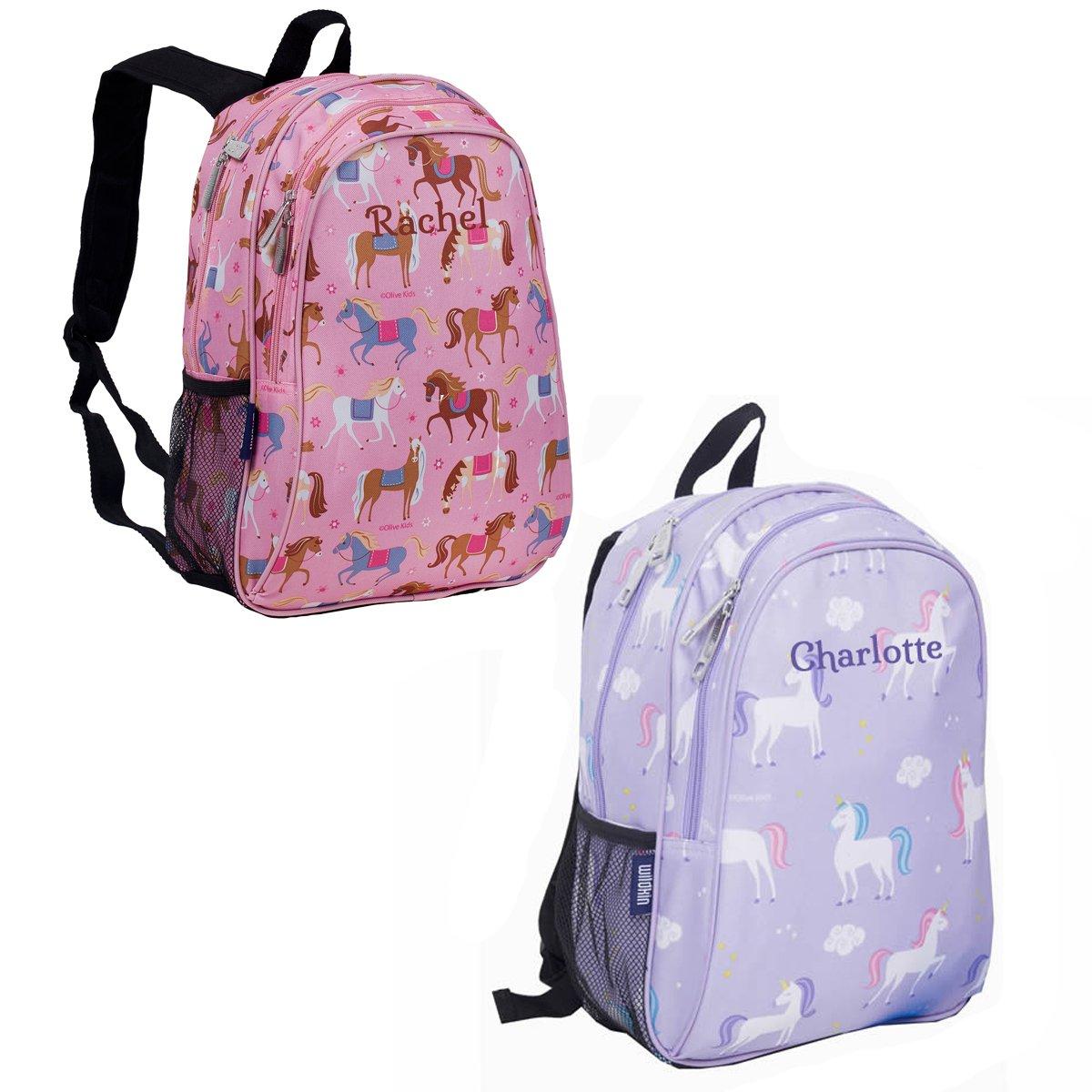 c02b3eb77c28 Personalised Kids School Bags