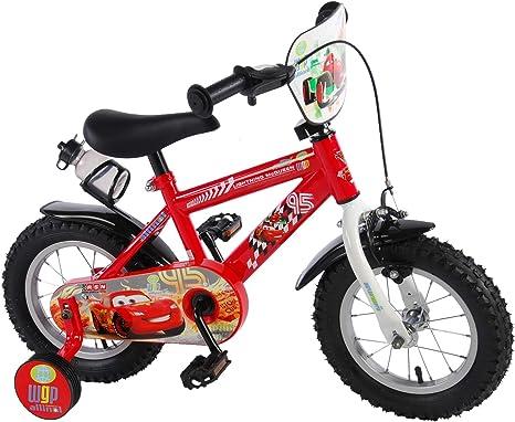 Disney Cars 12 pulgadas bicicleta bicicleta infantil con freno de ...