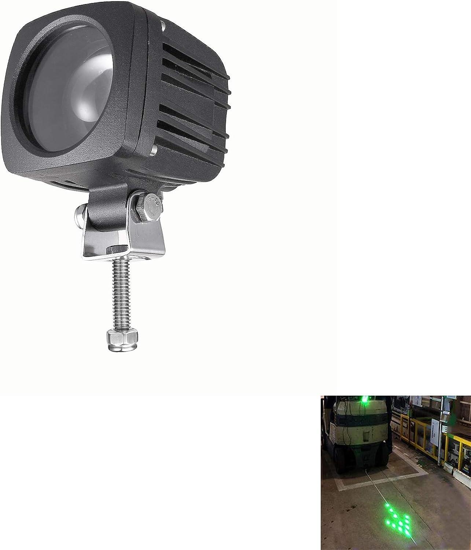 Blue Flash Blue Arrow LED Forklift Safety Light,Warehouse Protect Pedestrian Danger Area No Go Warning Spot Light