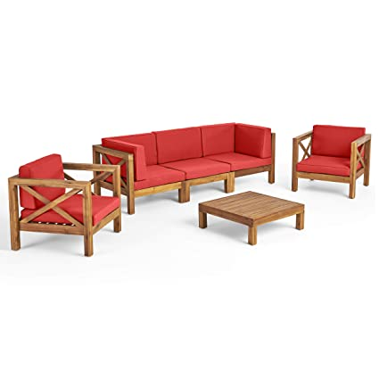 Amazon.com: Great Deal Furniture Morgan - Juego de sofá de ...