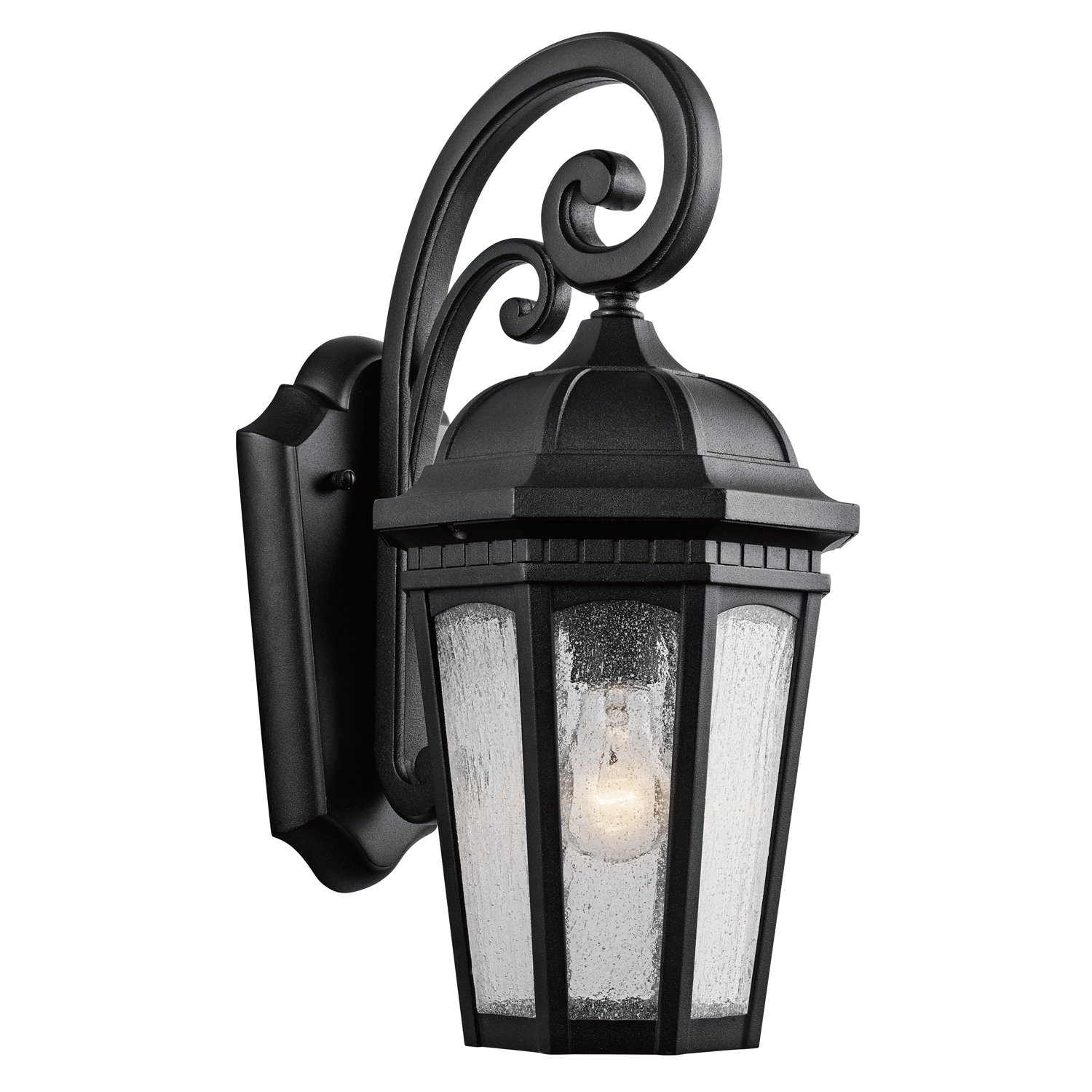 Kichler 9033BKT One Light Outdoor Wall Mount by Kichler Lighting (Image #1)