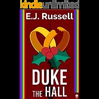 Duke the Hall: A M/M Superhero Romance book cover