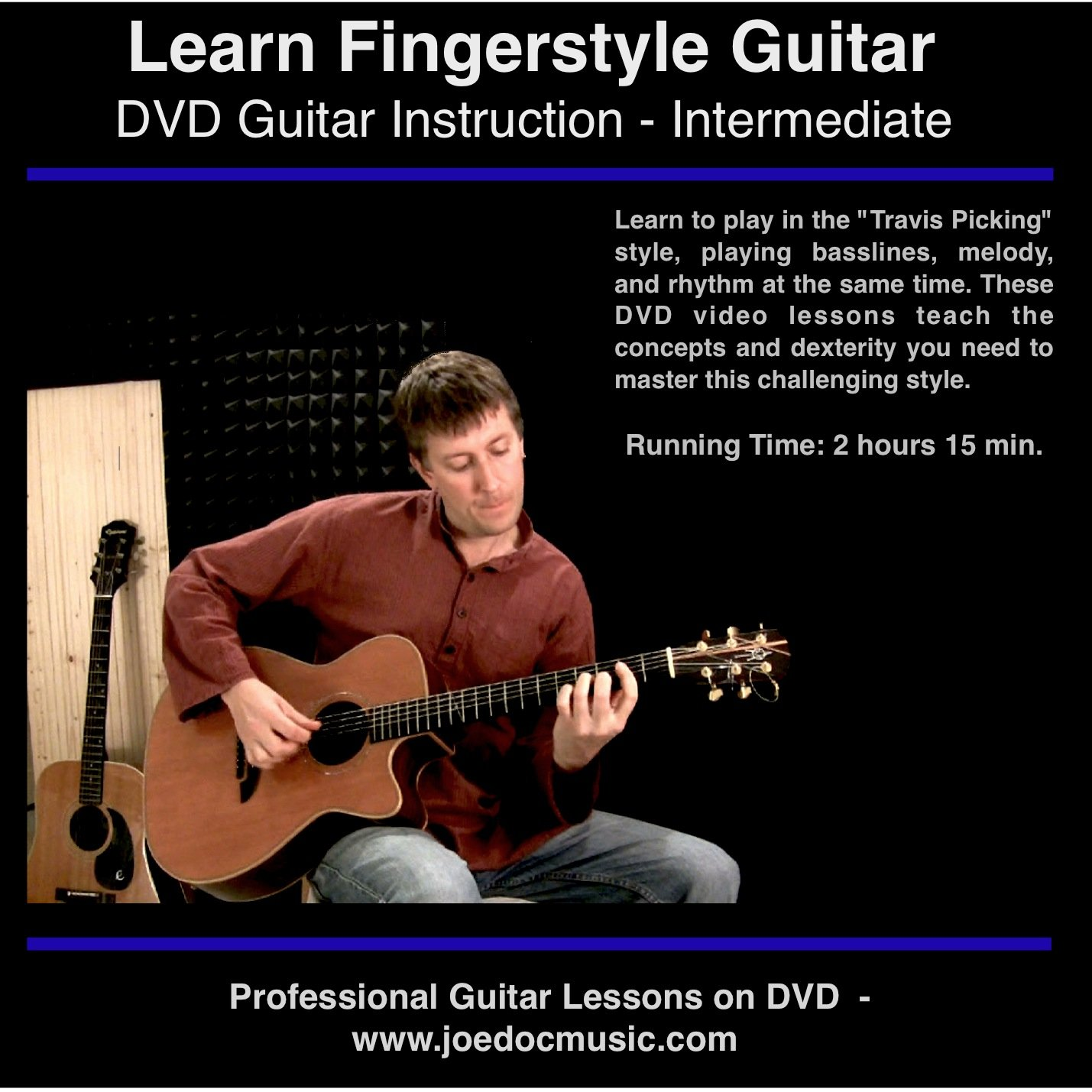 learn to play fingerstyle travis picking acoustic