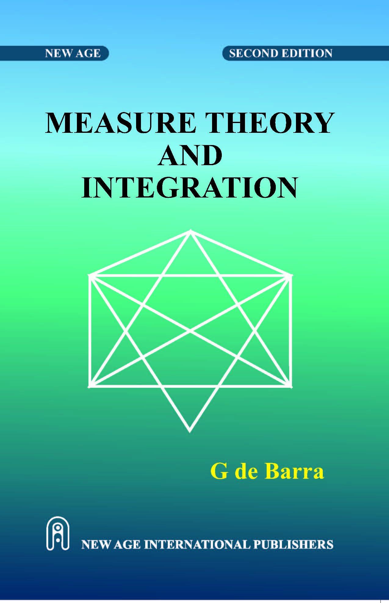 De barra theory and integration g pdf measure