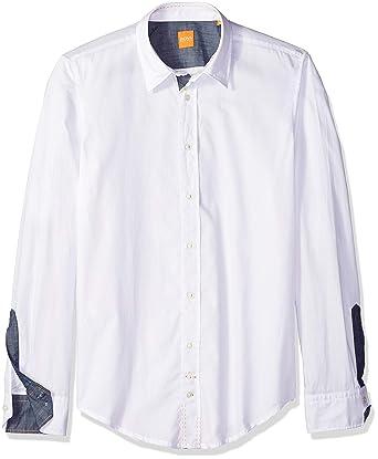 5db575c82 Amazon.com: BOSS Orange Men's 50237335, White Medium: Clothing