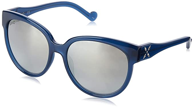 Liu Jo LJ665SR 424 57 Gafas de sol, Blue, Mujer: Amazon.es ...