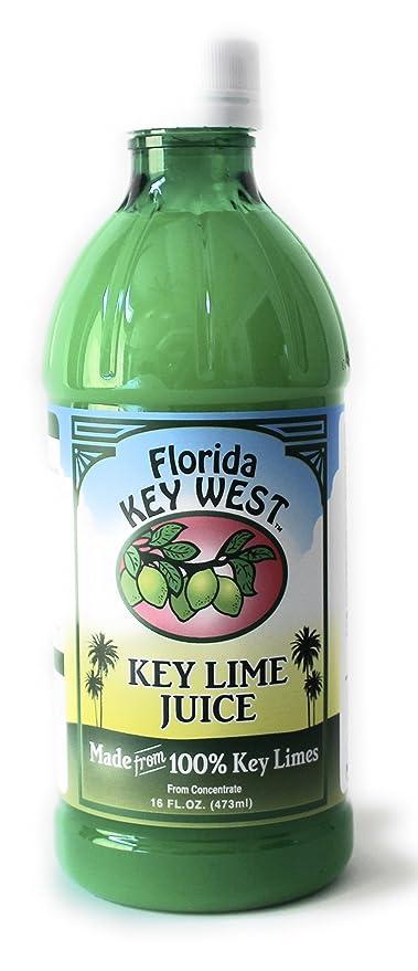 Florida Key West 100% Jugo de Limón Key Authentic 16 Oz: Amazon.es ...