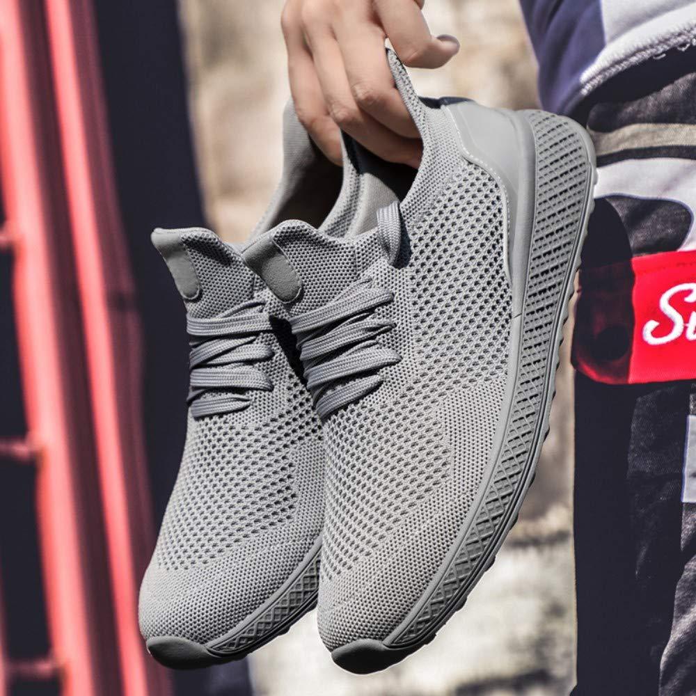 YAYADI Turnschuhe Sport Schuhe Jungen Atmungsaktiv Leichte Sportliche Outdoor Herbst Trend Schnürung Männlich