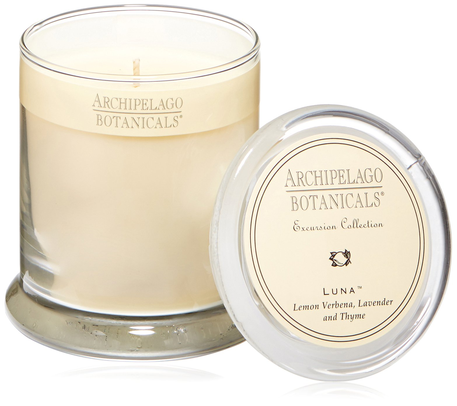 Archipelago Glass Jar Candle, Luna, 8.62 oz.