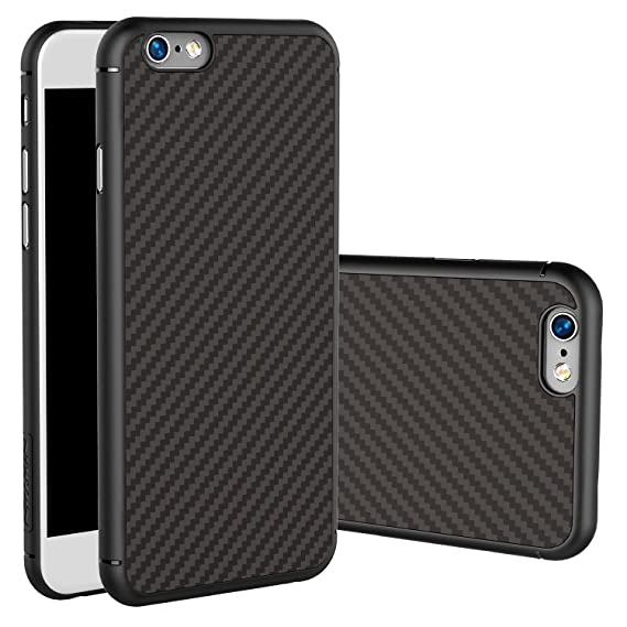 release date: 81e9f e618c for iPhone 6S Plus Case, Nillkin Synthetic Fiber Premium Bumper Case Cover  [Carbon Fiber] [Compatible with Magnetic Phone Holder] for iPhone 6/6S Plus  ...