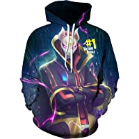 Youth Fortnite Pullover Hooded Sweatshirts Kids Fashion Hoodie for Teen Boys and Girls