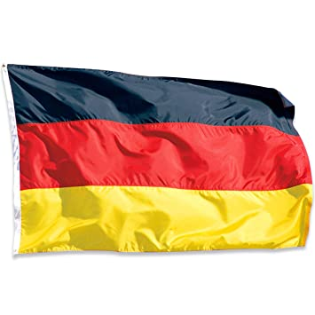 Hemore Deutschland Flagge De Fahne 90x150cm Wetterfest Az Flag
