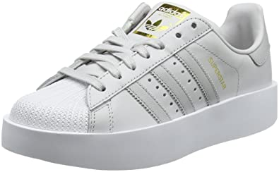 new concept 82281 5261b adidas Superstar Bold W, Chaussures de Fitness Femme, Gris (Griuno Gridos