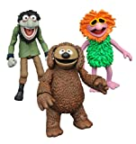 Diamond Select Toys The Muppets: Rowlf, Mahna Mahna, and Crazy Harry Select Action Figure (3 Pack)