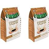 Jobe's Organics Compost Starter 4-4-2 Organic Gardening Compost Accelerator, nSumun 2Pack (4 pound bag)
