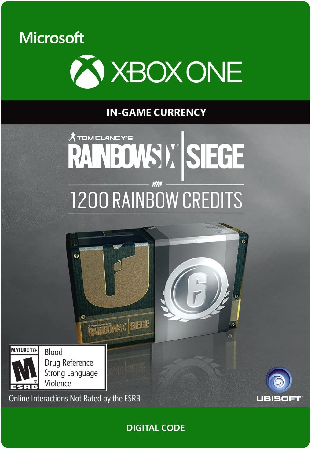 Amazon com: Tom Clancy's Rainbow Six Siege: 600 Rainbow Six