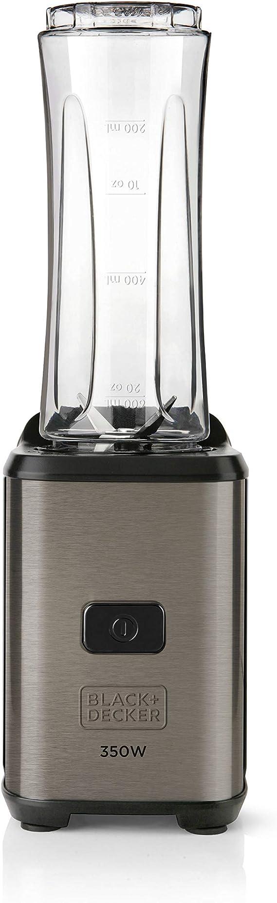 Black+Decker BXJBA350E Batidora de vaso 350 W, 600 milliliters ...