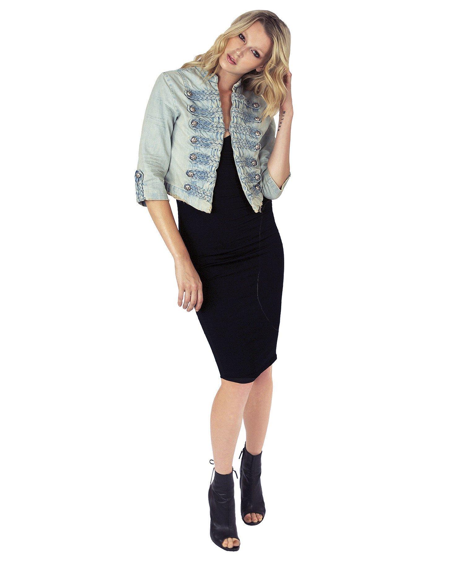 Nikki Lund System Denim Jacket by Nikki Lund
