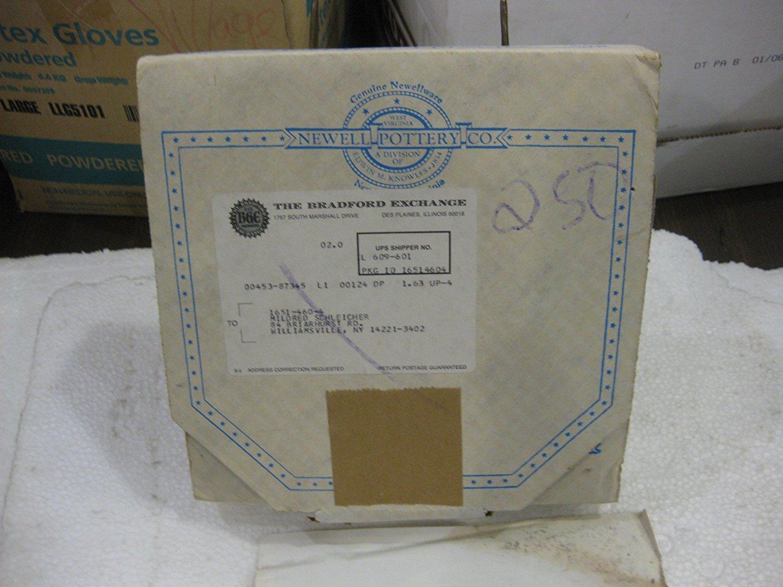 7 diameter March 1986 Collector Plate From The Sarah Stilwell Weber Calendar Series