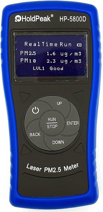 PM2.5 PM10 feinstaubmes sgerät partículas Medidor HP bc-5800d ...