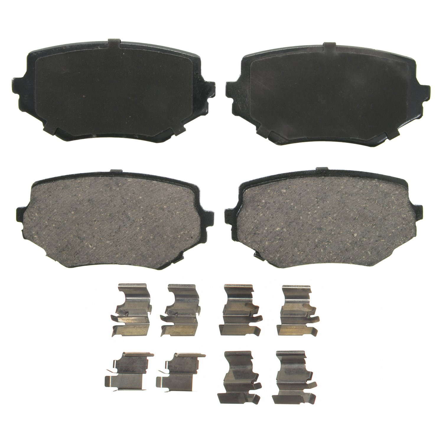 Wagner QuickStop ZD680 Ceramic Disc Pad Set, Front WAG ZD680
