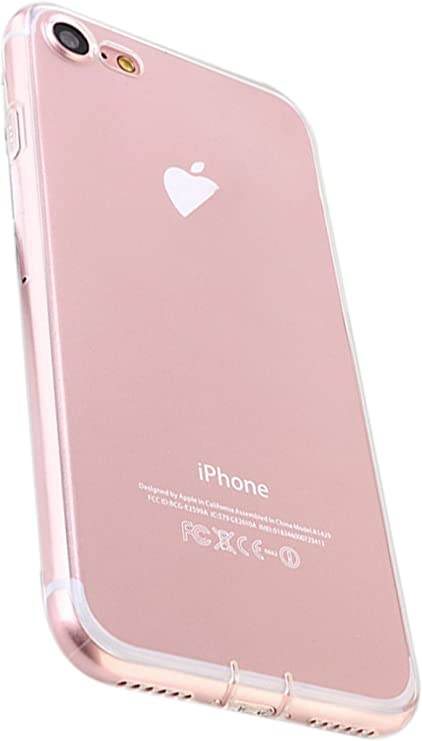 COVER CUSTODIA TRASPARENTE APPLE IPHONE 7 TPU MORBIDA SOTTILE