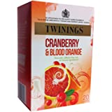 Twinings Cranberry and Blood Orange Green Tea (20 Tea Bags)