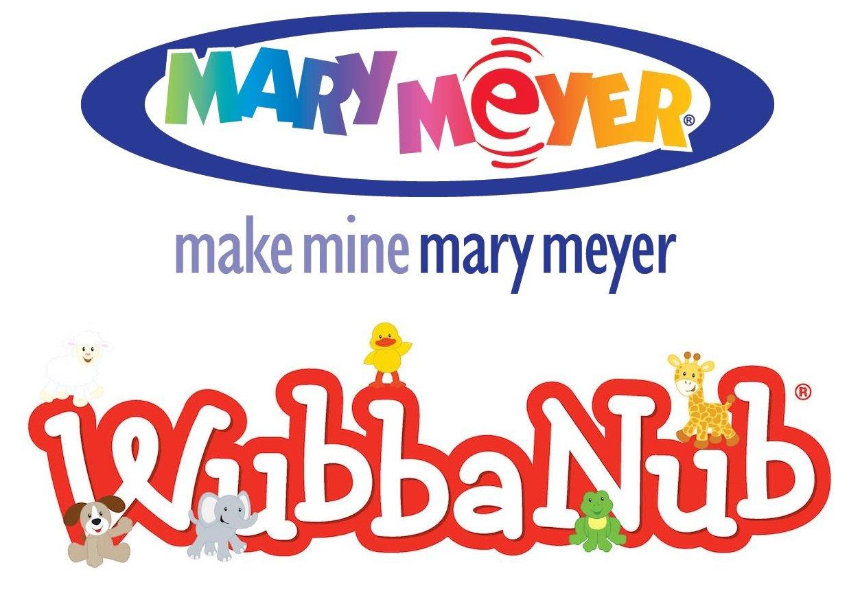Mary Meyer OATMEAL BUNNY WUBBANUB w Attached Soothie Pacifier by Mary Meyer by Mary Meyer