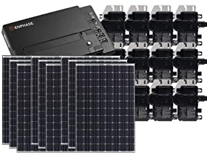 Treepublic High Efficiency Residential Solar Panel Grid-Tied System