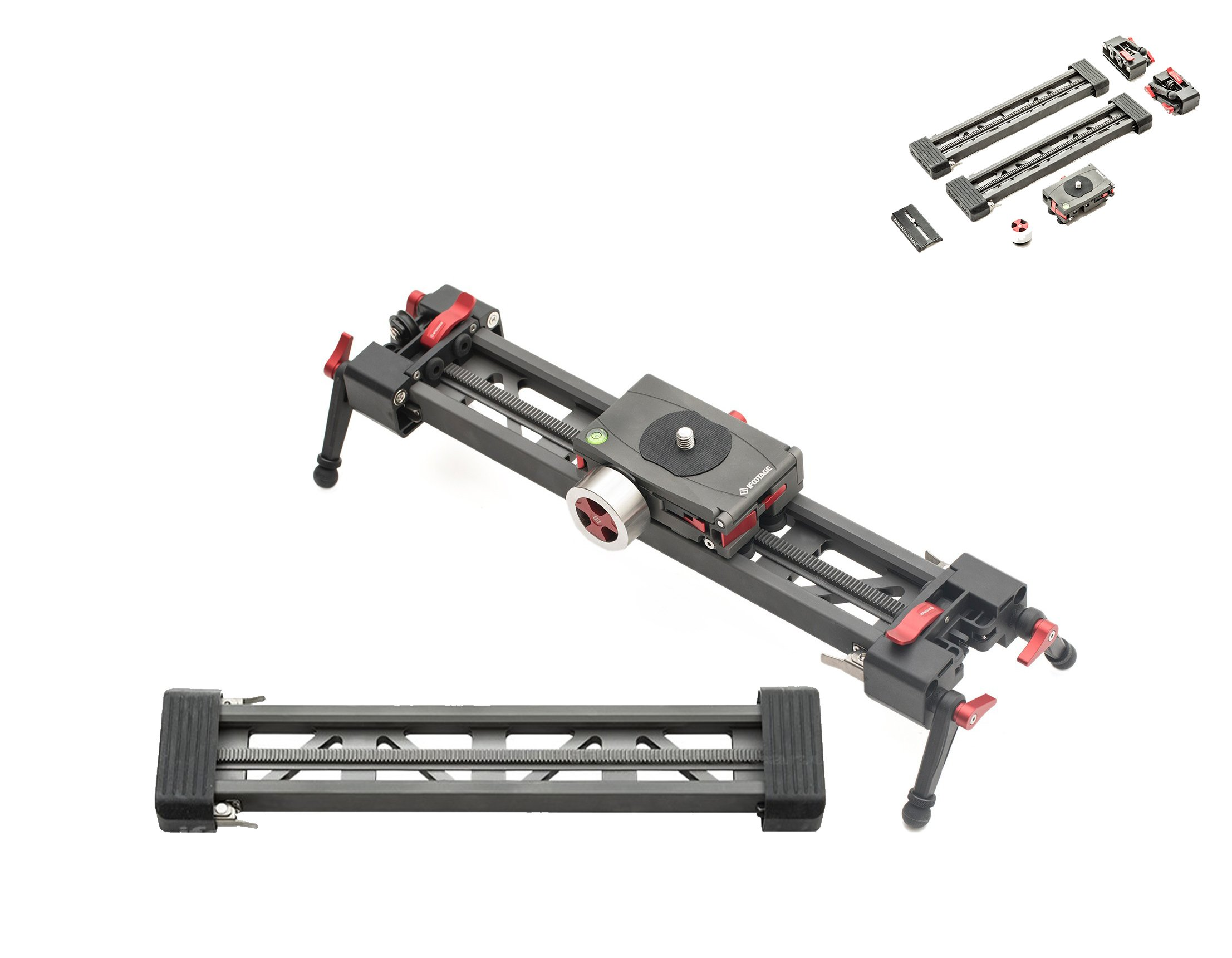 IFootage Mini Shark Slider 33''. 4.2 Lbs Weight Capacity. For DSLR And Mirrorless Video Cameras