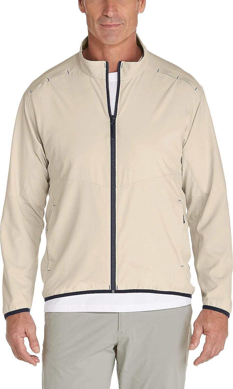 Coolibar UPF 50+ Men's Arcadian Packable Sunblock Jacket - Sun Protective
