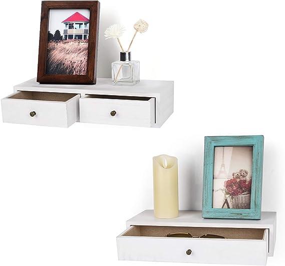 Floating Drawer Herringbone Shelf Floating Nightstand with Herringbone Top and Drawer 20x12x11 Floating Shelf Dimensions