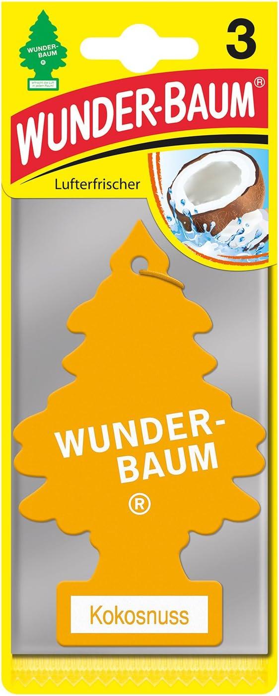 Wunderbaum 171204 Kokosnuss 3 Er Pack Auto