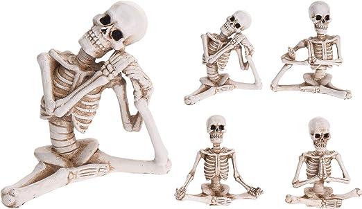 PERAGASHOP Figura Esqueleto Yoga 10 cm Surtido Accesorios ...