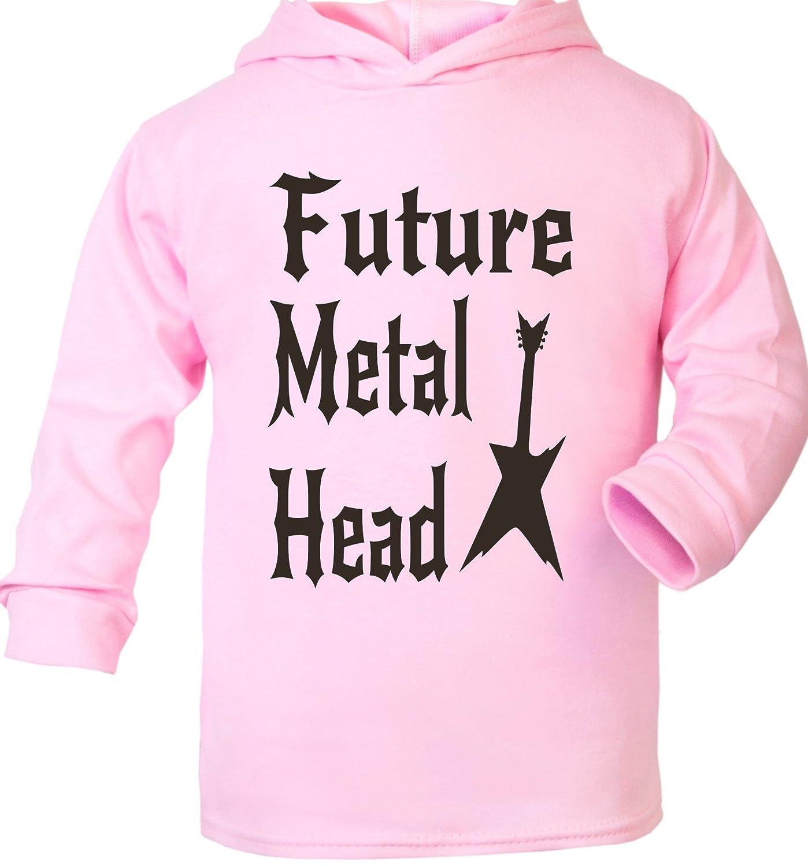 Print4u Future Metal Head Supersoft Baby Hoodie