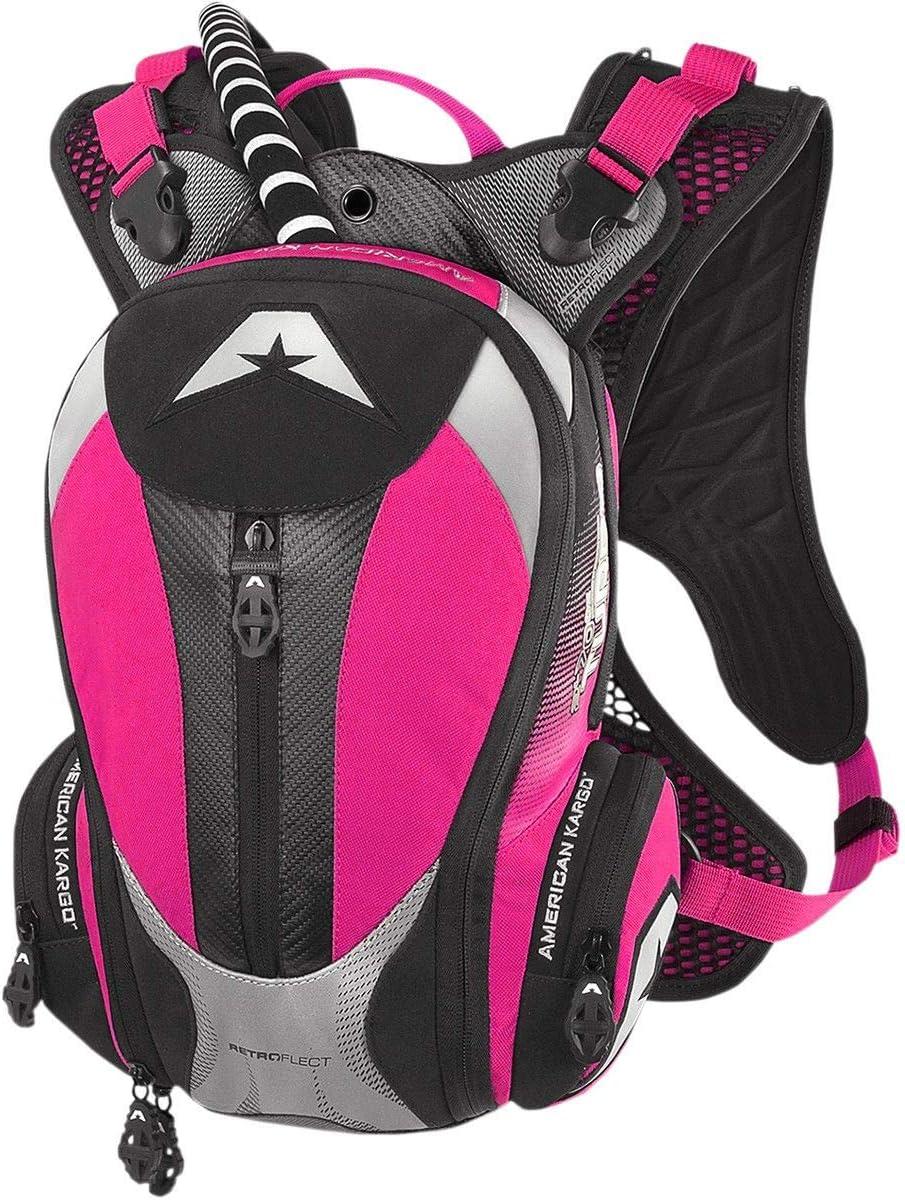American Kargo 3519-0012 Pink Turbo 2.0 Hydration Pack