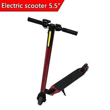 Dragon Patinete Eléctrico Scooter Eléctrico Plegable Velocidad Máxima 25 km Motor 250 W riote DE 5,5