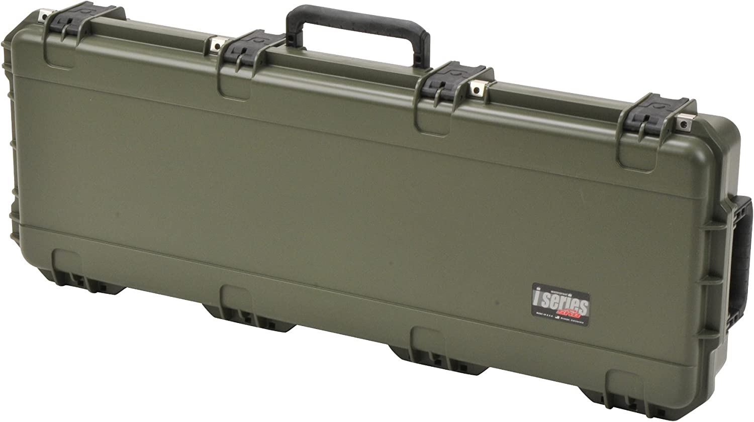 OD Green SKB Parallel Limb Bow Case 3i-4214-PL-M with 2 TSA Locking latches CVPKG Presents