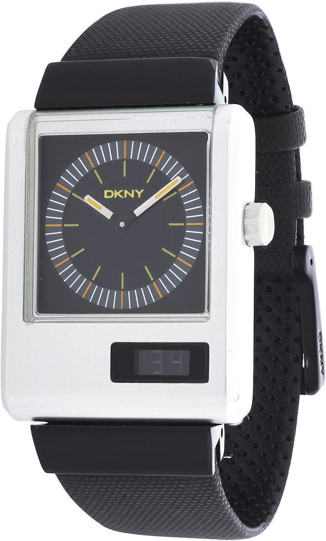 DKNY NY1291 - Reloj, Correa de plástico Color Negro