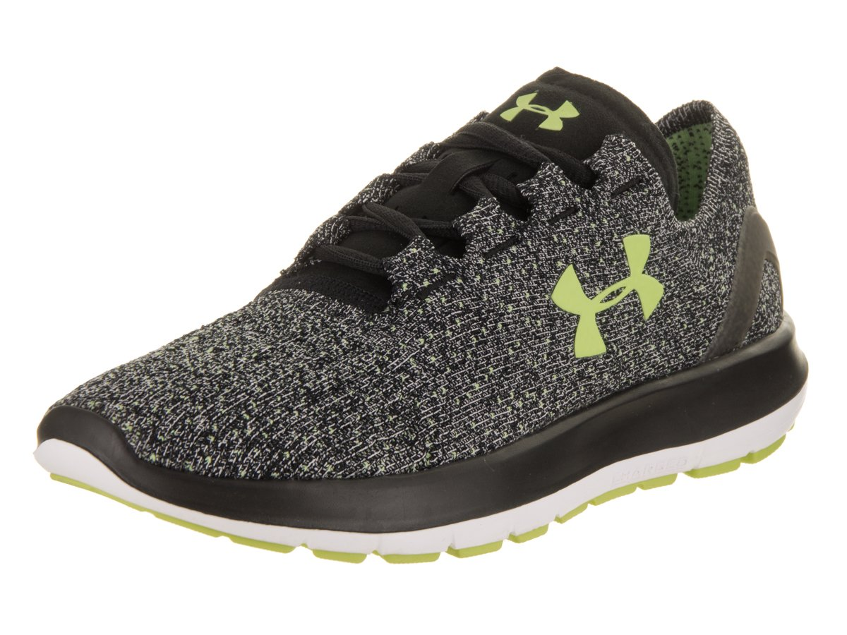 Under Armour Women's Speedform Slingride Tri Running Shoe, Overcast Gray/Glacier Gray/Marlin Blue B01GSRMCAO 9.5 B(M) US|Black