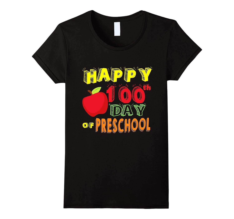 Happy 100th day preschool shirt-Awarplus