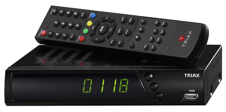 Triax S-HD 11 HD Ré cepteur Noir