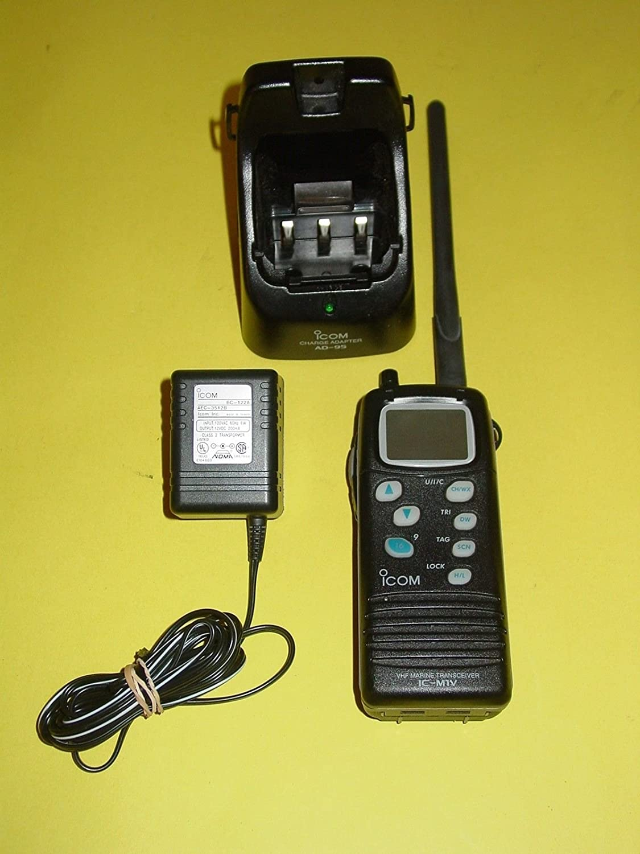 Amazon com: Icom IC-M1V VHF Marine Handheld Transceiver