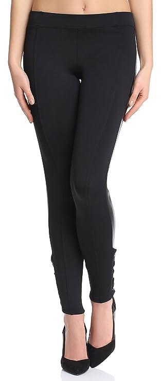 Pantalones elegantes para mujer - Leggins elegantes para evento formal.