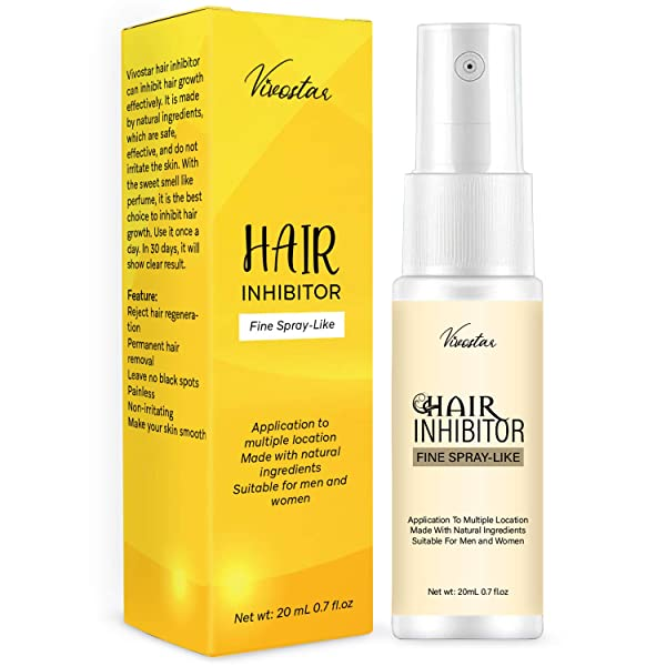 Hair Inhibitor, Painless Hair Stop Growth Spray, Apply after Hair Removal, Non-Irritating Hair Removal Inhibitor, for Face, Arm, Leg, Armpit, Make Your Skin Smooth