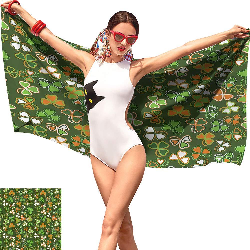 Amazon com: St  Patricks Day Kid Beach Towel,Lucky
