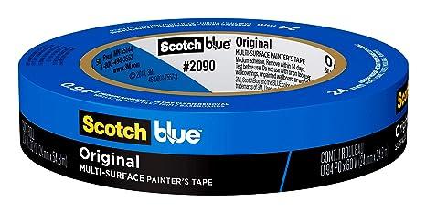 Cinta cintas de enmascarar azules 45 mm x 50 m pintura de coche de bricolaje cinta adhesiva de pulverizaci/ón decoraci/ón para impresora 3D